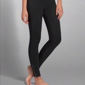 Abercrombie Black Legging